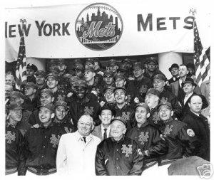 NEW YORK METS- 1962 CITY HALL- STENGEL, HODGES, et. al.