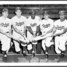 DODGERS- DUKE SNIDER - GIL HODGES - PEE WEE REESE