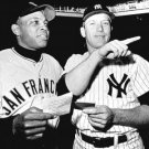 MICKEY MANTLE & WILLIE MAYS 1962 AS CAPTAINS