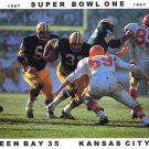 GREEN BAY PACKERS- JIM TAYLOR - SUPER BOWL 1 - COLOR