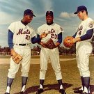 NEW YORK METS- CLEON JONES, TOMMIE AGEE, RON SWOBODA