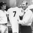 NEW YORK YANKEES: BOBBY MURCER-MICKEY MANTLE RETIRES #7
