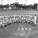 BROOKLYN DODGERS TEAM-VERO BEACH SPRING '55 11x14 SIZE
