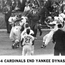 KEN BOYER & CARDINALS END YANKEE DYNASTY! 11x14 SIZE