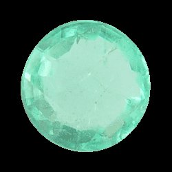 5.8X5.8 mm. Green Round SKU: G775538305