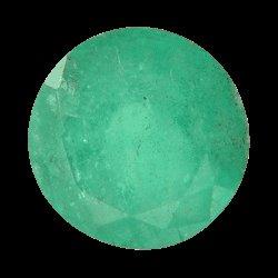 7.0x7.0mm. Green Round SKU: G775538176