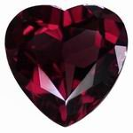 3 mm Heart Shape Garnet in A Grade [GFR091706207]
