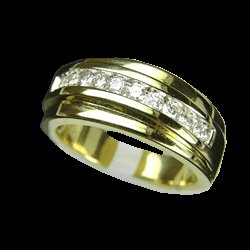 0.56 Cts. Diamond 18k Gold Ring