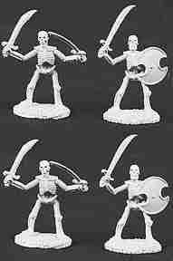 Reaper Miniatures #6001 Skeletons W/swords Army Pack
