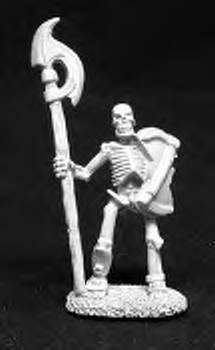 Reaper Miniatures #2014  Skeleton with Halberd (OOP)