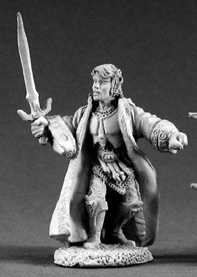 Reaper Miniatures #2027 D'narg the Slayer (OOP)