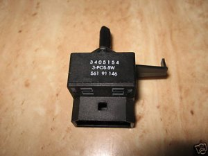 KENMORE WHIRLPOOL DRYER WRINKLE SHIELD SWITCH 3405154