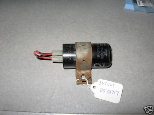 WASHER START CAPACITOR & CLIP 357021 8572717 8318046