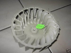 FRIGIDAIRE WESTINGHOUSE DRYER BLOWER WHEEL 5303281079