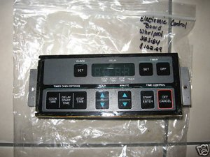 WHIRLPOOL OVEN RANGE CLOCK CONTROL BRD 3183184 3183186
