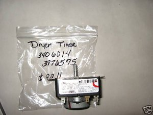 WHIRLPOOL BRAND DRYER TIMER SWITCH 3406014 3976575