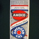 Vintage 1934 Amoco Gasoline, NY, New England & NJ Road