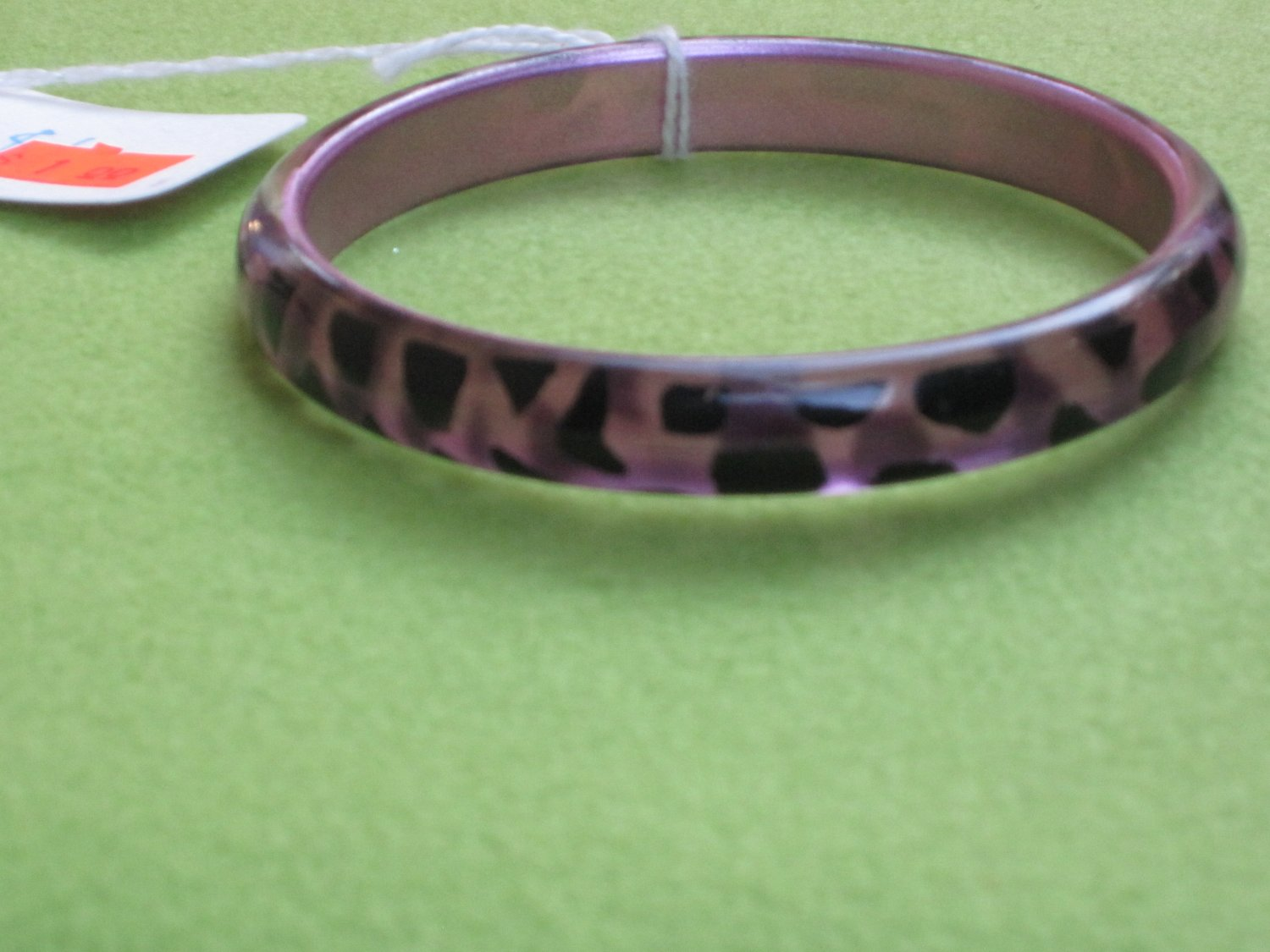 purple hard bracelet
