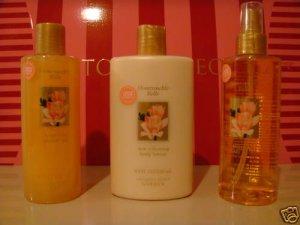 Victoria's Secret Honeysucke Belle lotion splash set 3