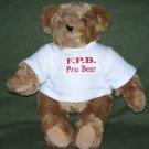 "Vermont Teddy Bear Co Born In Vermont Eyes Pru Bear 15"""