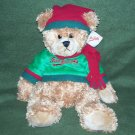 """Mrs. Fields Holiday Bear 15"""" Plush with Tags"""