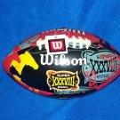 2004 Super Bowl XXXVIII Houston Texas Wilson Football