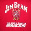 Jim Beam Racing #7 Robby Gordon T-Shirt Med Shirt