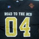 Road To BCS 04 Football Jersey Bowl Champ Series NEW!