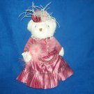 Beautiful Bearland Bear Dress and Hat Great Condition