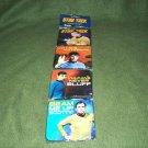 Set of Star Trek Coasters by Vandor Cpt. Kirk Mr. Spock