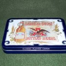 Vintage Anheuser-Busch Classic Playing Cards Tin 1988