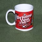 Coca Cola NASCAR Driving Your Thirst For Racing Mug