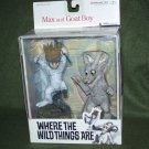 McFarlane 2000 Wild Things Are Max & Goat Boy Figures