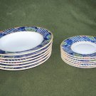Pfaltzgraff Atmosphere Montage Set 12 Saucers & Bowls