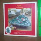 Spode Christmas Tree Whimsical Tray Canape Plate