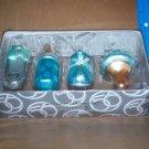 Dept. 56 Babies First Christmas Ornaments Set FOUR NIB