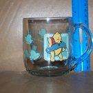 Vintage Disney Winnie The POOH Clear Glass Mug