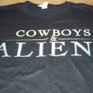 San Diego Comic Con 2010 Cowboys & Aliens Shirt Sz M