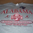 2009 SEC Champions Bama Crimson Tide Large T Shirt