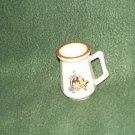 Vintage Texas USA Shot Glass / Mini Mug Bronco & Rider