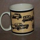 Vintage Russ Berrie Old Antique Car Mug