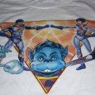 Wonder Twins Zan Jayna  Frank Varela Autographed Shirt