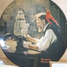 Knowles 'The Shipbuilder' Norman Rockwell 1980 Plate