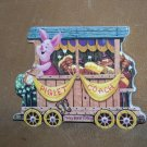 Piglets First Class Coach Plate Poohs Hunny Express
