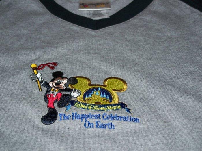 Walt Disney World MICKEY MOUSE Shirt Size L