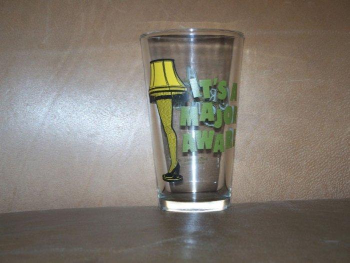 A Christmas Story Leg Lamp Major Award Glass Cup