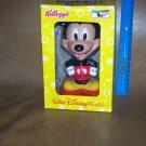Walt Disney Kelloggs 2002  Mickey Mouse Bobblehead MIB