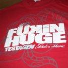GAT Testagen Jose Canseco Autographed Shirt Fukin Huge 2XL