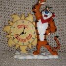 2007 Kelloggs Tony the Tiger Danbury Mint Clock FREE US Ship