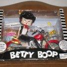 1999 Betty Boop Talking Doll On Motorcycle NIP